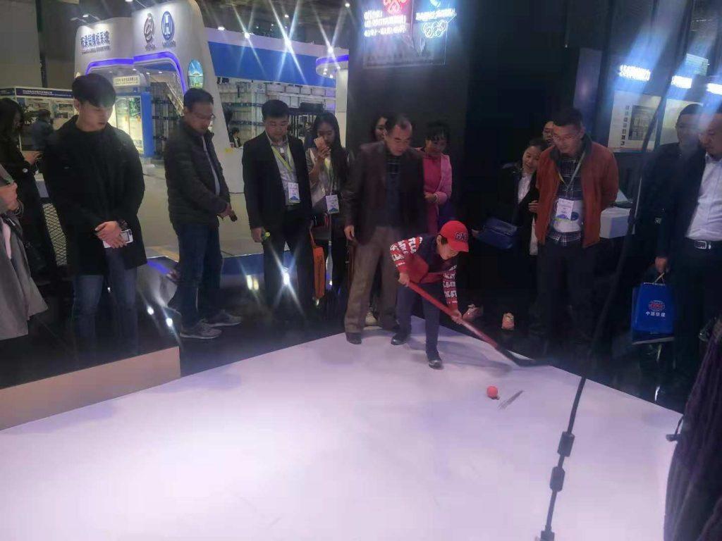 征迈冰球守门员机器人Zimasys-Hockey-Keeper-Robot