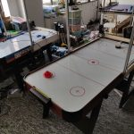 征迈桌上冰球对战机器人(中型版本)air-hockey-robot-medium